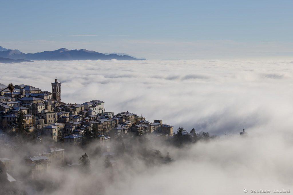 Sacro Monte fra le nuvole