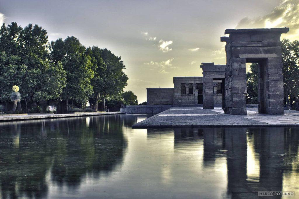 templio-madrid-tramonto